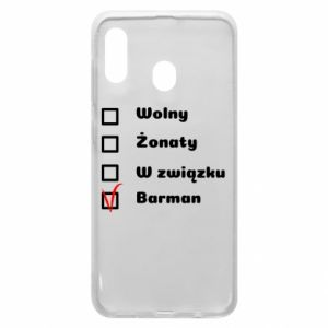 Phone case for Samsung A20 Barman - PrintSalon