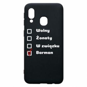 Phone case for Samsung A40 Barman - PrintSalon