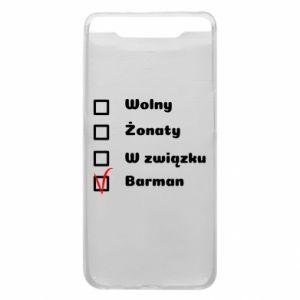 Etui na Samsung A80 Barman