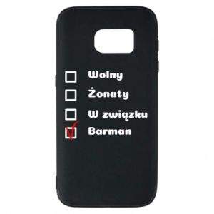 Phone case for Samsung S7 Barman - PrintSalon