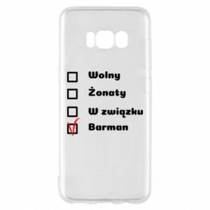 Phone case for Samsung S8 Barman - PrintSalon