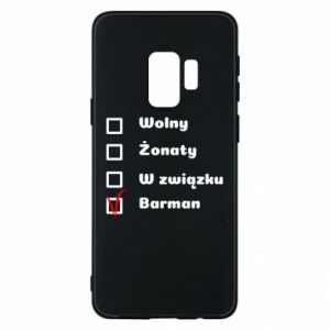 Phone case for Samsung S9 Barman - PrintSalon
