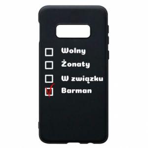 Etui na Samsung S10e Barman