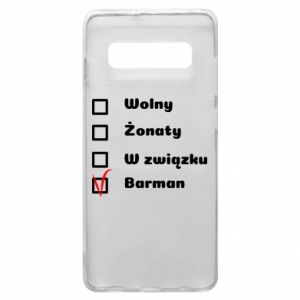 Phone case for Samsung S10+ Barman - PrintSalon