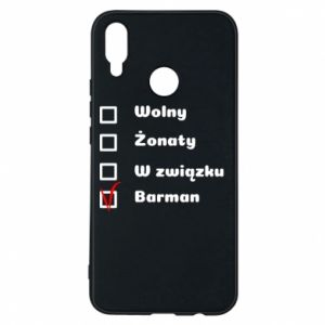 Phone case for Huawei P Smart Plus Barman - PrintSalon