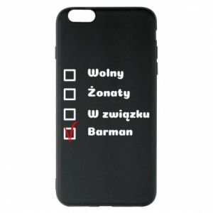 Phone case for iPhone 6 Plus/6S Plus Barman - PrintSalon