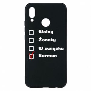 Phone case for Huawei P20 Lite Barman - PrintSalon
