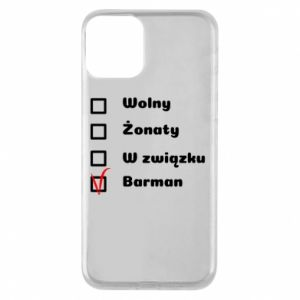 Phone case for iPhone 11 Barman - PrintSalon