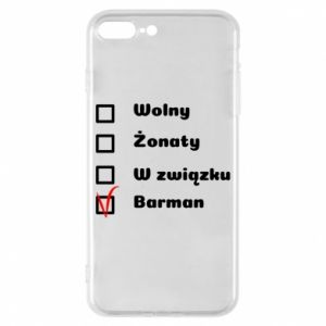 Phone case for iPhone 7 Plus Barman - PrintSalon