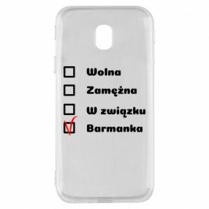 Phone case for Samsung J3 2017 Barmaid, for her - PrintSalon