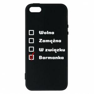Etui na iPhone 5/5S/SE Barmanka