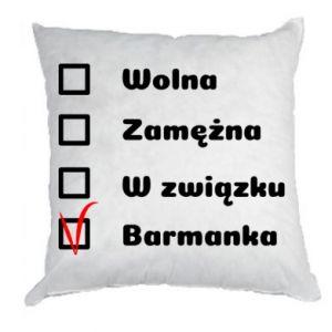Poduszka Barmanka