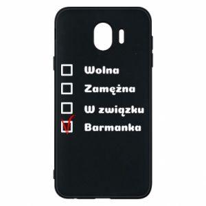 Phone case for Samsung J4 Barmaid, for her - PrintSalon