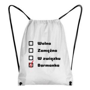 Plecak-worek Barmanka