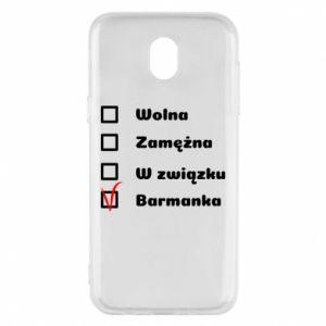 Etui na Samsung J5 2017 Barmanka