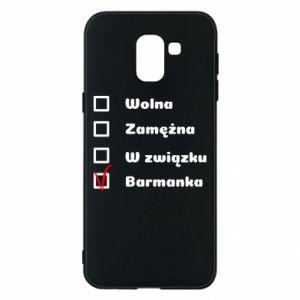 Etui na Samsung J6 Barmanka
