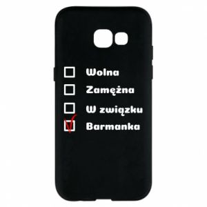 Phone case for Samsung A5 2017 Barmaid, for her - PrintSalon