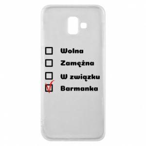 Phone case for Samsung J6 Plus 2018 Barmaid, for her - PrintSalon