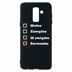 Phone case for Samsung A6+ 2018 Barmaid, for her - PrintSalon