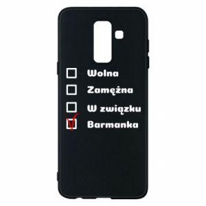 Etui na Samsung A6+ 2018 Barmanka