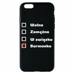 Etui na iPhone 6/6S Barmanka