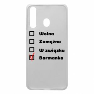 Phone case for Samsung A60 Barmaid, for her - PrintSalon