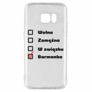 Etui na Samsung S7 Barmanka
