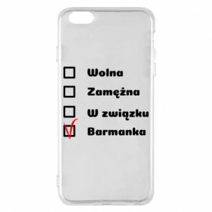 Phone case for iPhone 6 Plus/6S Plus Barmaid, for her - PrintSalon