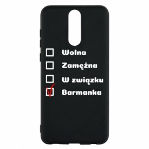Phone case for Huawei Mate 10 Lite Barmaid, for her - PrintSalon