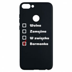 Phone case for Huawei P Smart Barmaid, for her - PrintSalon