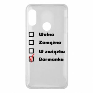 Phone case for Mi A2 Lite Barmaid, for her - PrintSalon