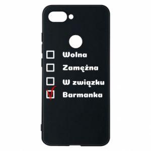 Phone case for Xiaomi Mi8 Lite Barmaid, for her - PrintSalon
