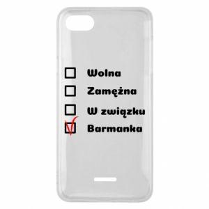 Phone case for Xiaomi Redmi 6A Barmaid, for her - PrintSalon