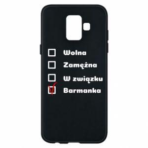 Etui na Samsung A6 2018 Barmanka