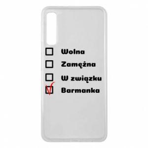 Etui na Samsung A7 2018 Barmanka