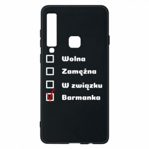 Phone case for Samsung A9 2018 Barmaid, for her - PrintSalon