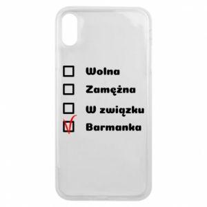 Etui na iPhone Xs Max Barmanka