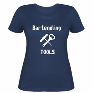 Women's t-shirt Bartending tools