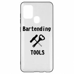 Etui na Samsung A21s Bartending tools