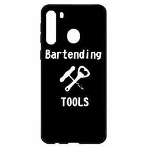 Etui na Samsung A21 Bartending tools