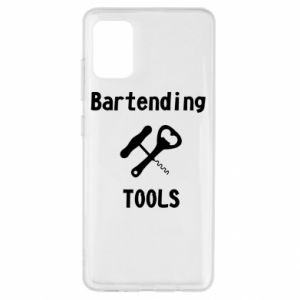 Etui na Samsung A51 Bartending tools