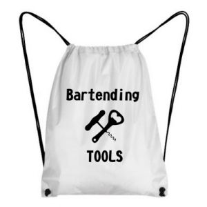 Backpack-bag Bartending tools
