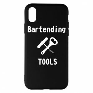 Etui na iPhone X/Xs Bartending tools