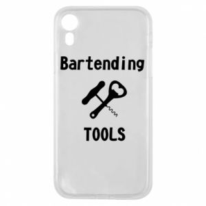 Etui na iPhone XR Bartending tools