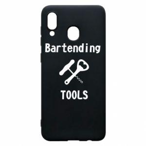 Etui na Samsung A20 Bartending tools