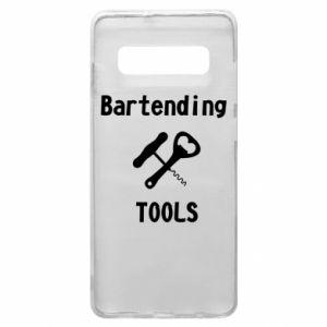 Etui na Samsung S10+ Bartending tools