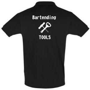 Men's Polo shirt Bartending tools