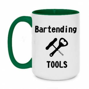 Two-toned mug 450ml Bartending tools