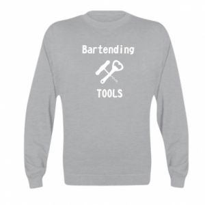Kid's sweatshirt Bartending tools