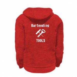 Bluza na zamek dziecięca Bartending tools